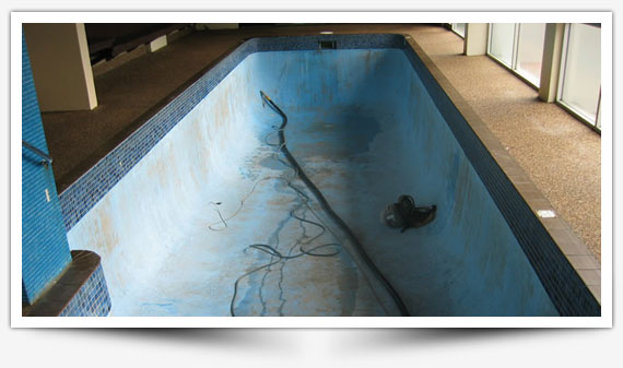 Before a Pool Renovation