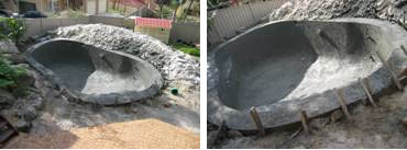 Finished Pool Depth Reduction