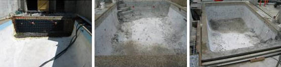 Reducing Concrete Pool Depth