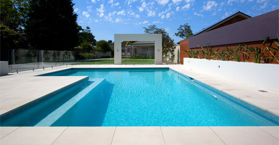 Stunning Pool Built by Blue Water Pools